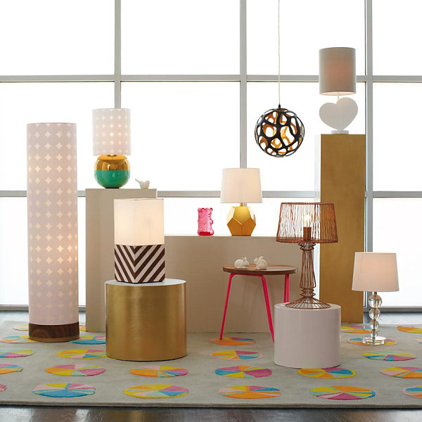Stylish lighting from The Land of Nod