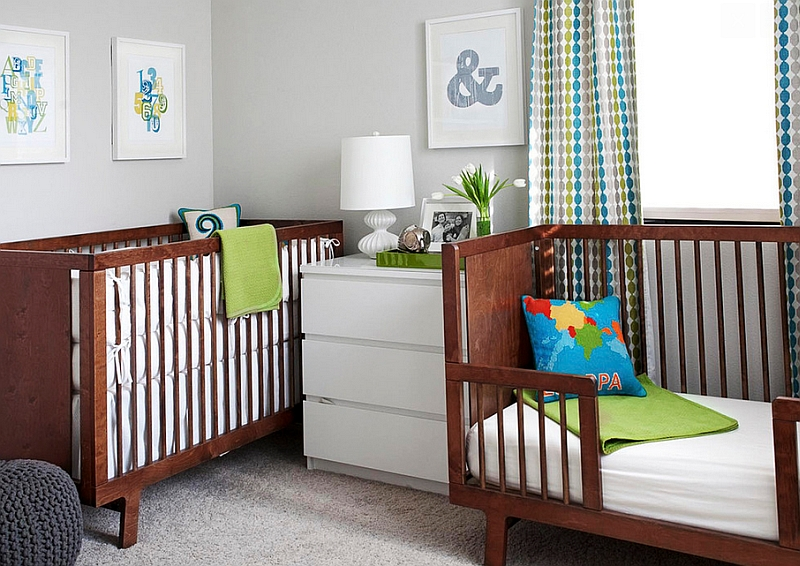 The perfect nursery relies as much on lighting as it does on color