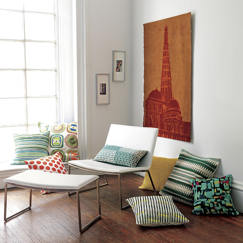 Throw pillows from CB2