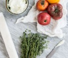 Tomato Tart Ingredients