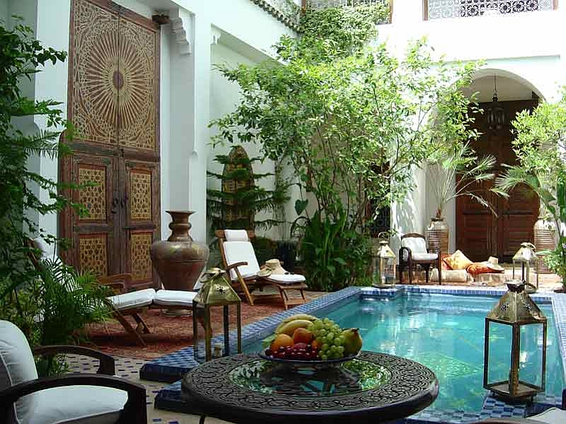 Turn your backyard into an exotic retreat!