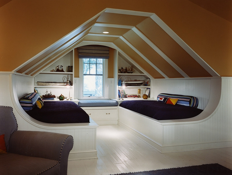 How To Deal With A Slanted Ceiling Idea Bedroom Design