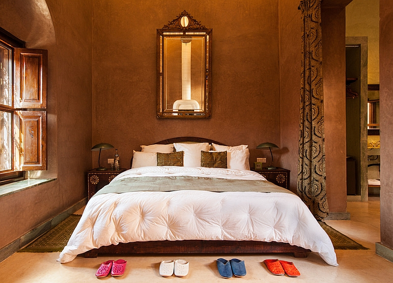 Moroccan bedrooms ideas photos decor and inspirations for Decor chambre coucher