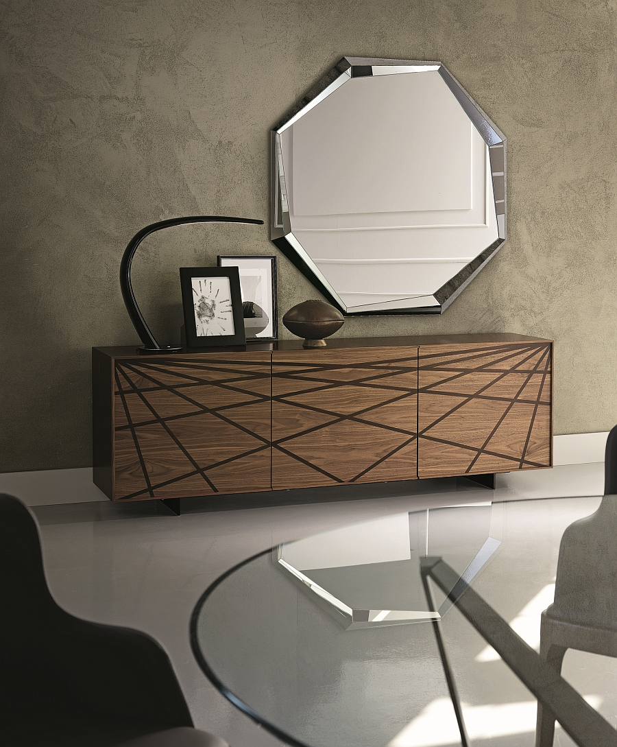 fabulous and functional modern sideboards with a touch of. Black Bedroom Furniture Sets. Home Design Ideas
