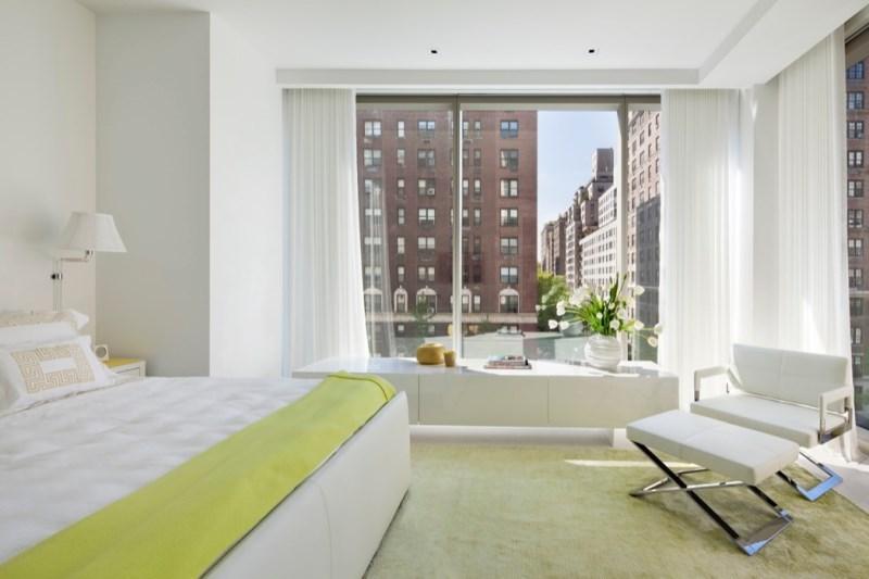 A New York City bedroom designed by Jennifer Post