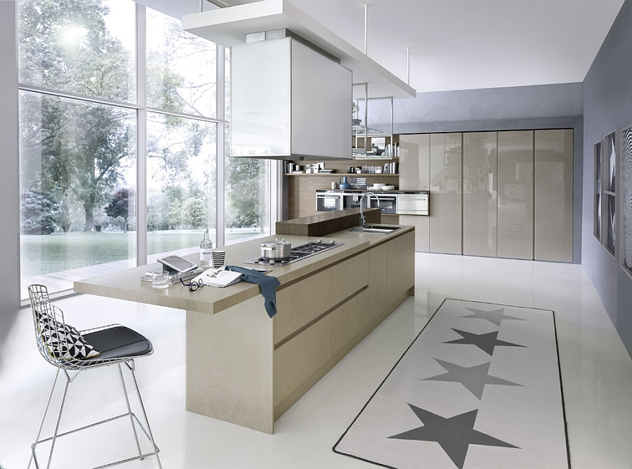 Beautiful System Collection of kitchens offers versatile, space-saving solutions