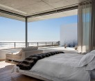 Bedroom with ocean views, Cape Town