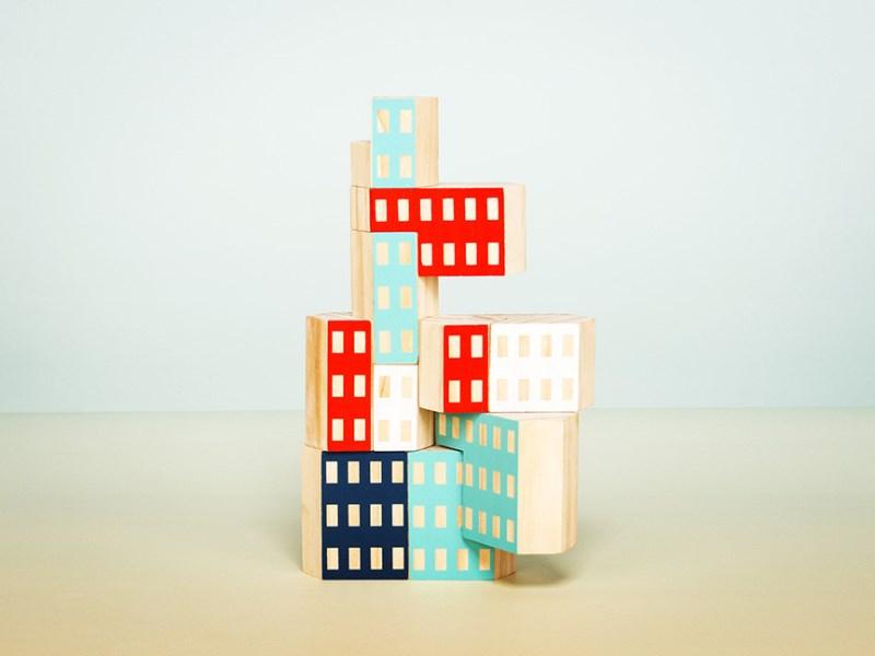 Blockitecture building blocks