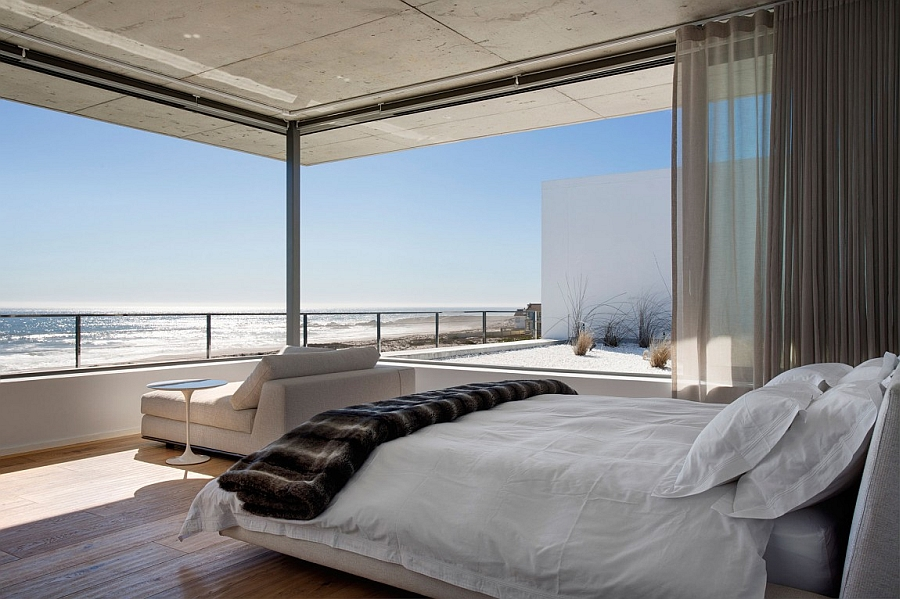 Breathtaking ocean views from the bedroom steal the show