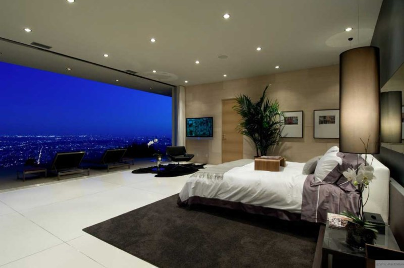 City bedroom with a view