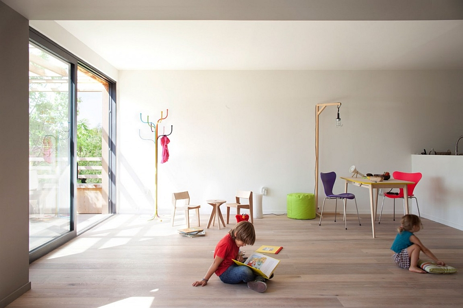 Colorful and playful decor additions for the dynamic playzone