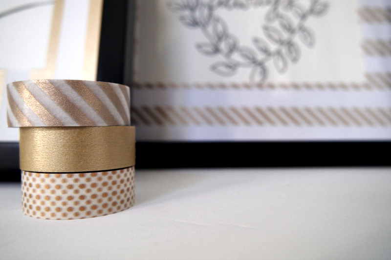 Crafting DIY Washi Tape Picture Frame Mats with Ease