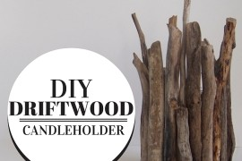 DIY Driftwood Candleholder Brings Home Rustic Summer Charm!