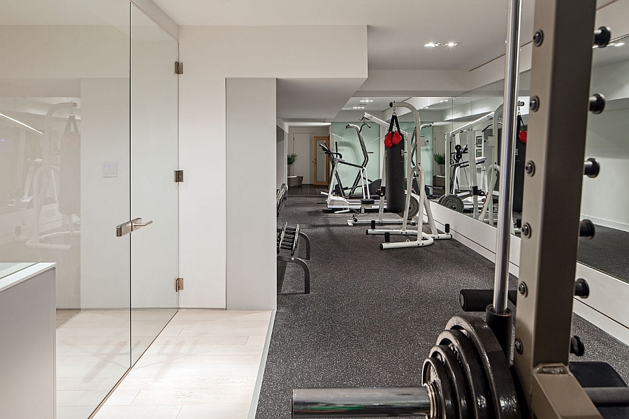 Design a dedicated home gym in your basement with ease