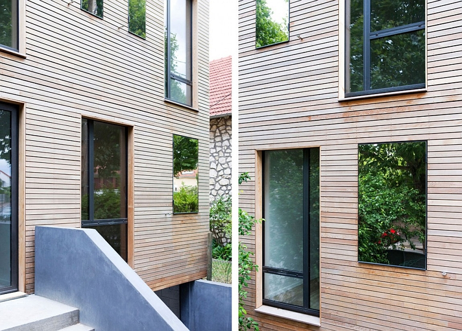 Double-glazed and argon windows give the home energy-efficiency
