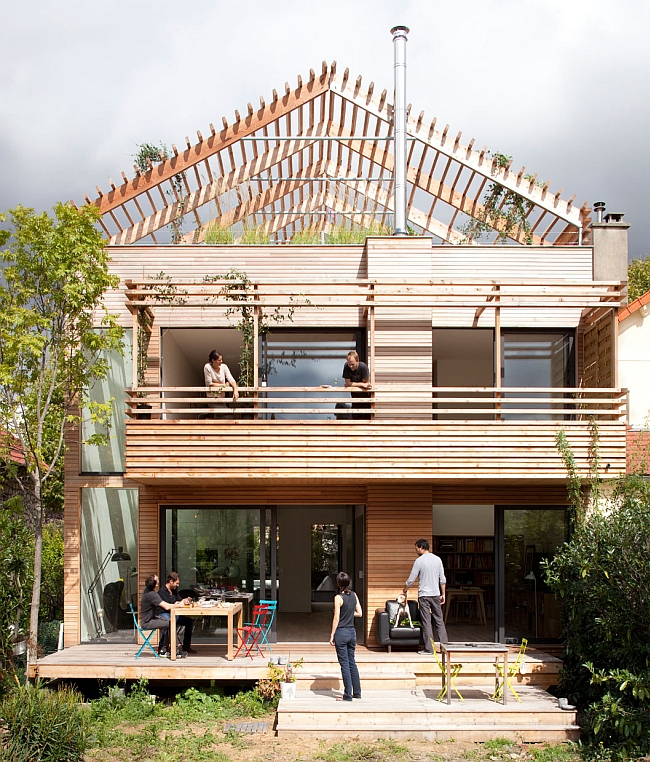 Eco Home Design Ideas: Smart Eco-Sustainable Prefab House Charms With Versatile