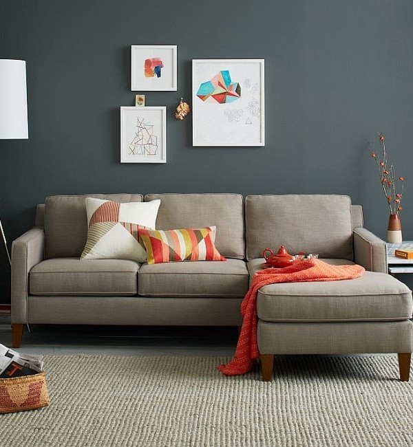Fall Color Combinations Gray and Orange