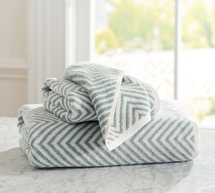 Fresh towels welcome guests in style