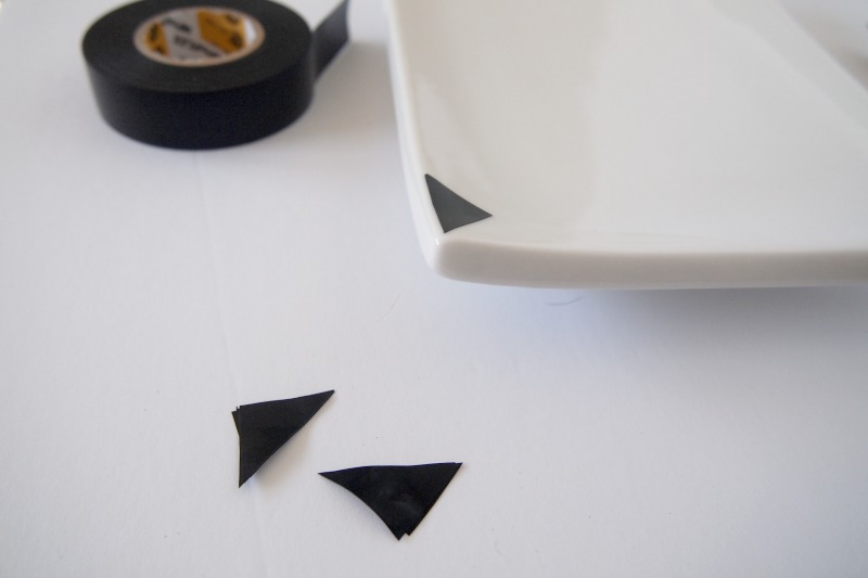 Getting started with the electric tape for the DIY Jewelry Tray