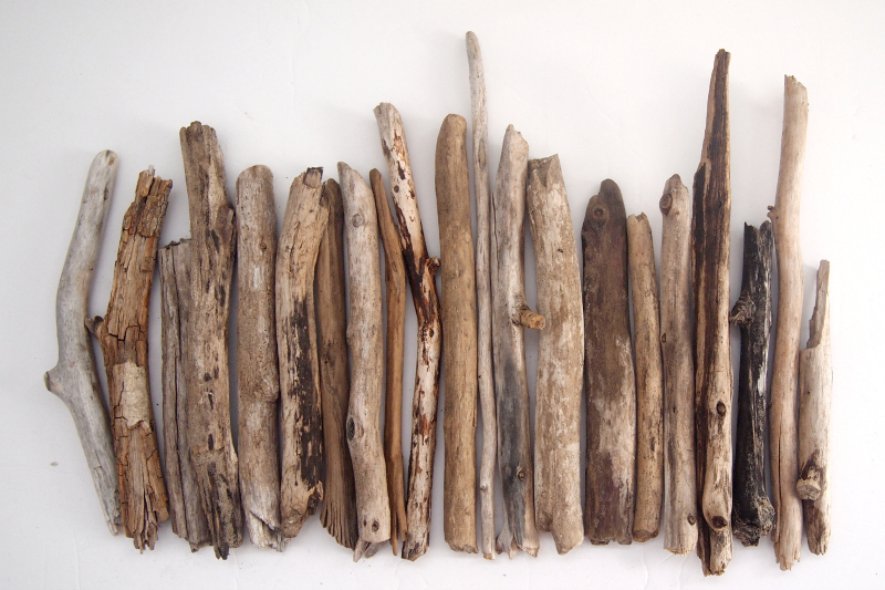 Getting the pattern right with your collected driftwood