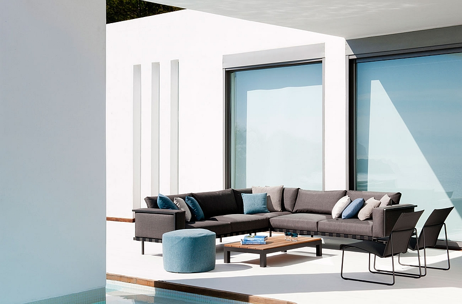 Give the outdoor landscape a revitalized look with the Natal Alu Decor Collection