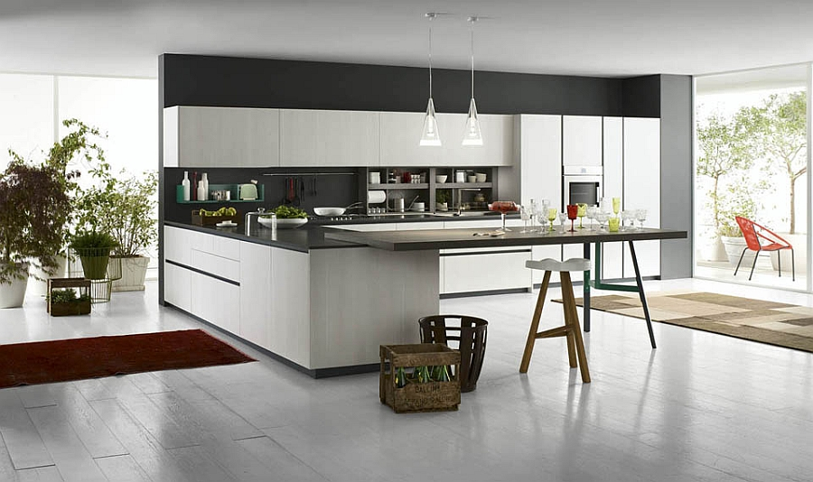 Grafica turns your kitchen into a fun gathering spot for the family