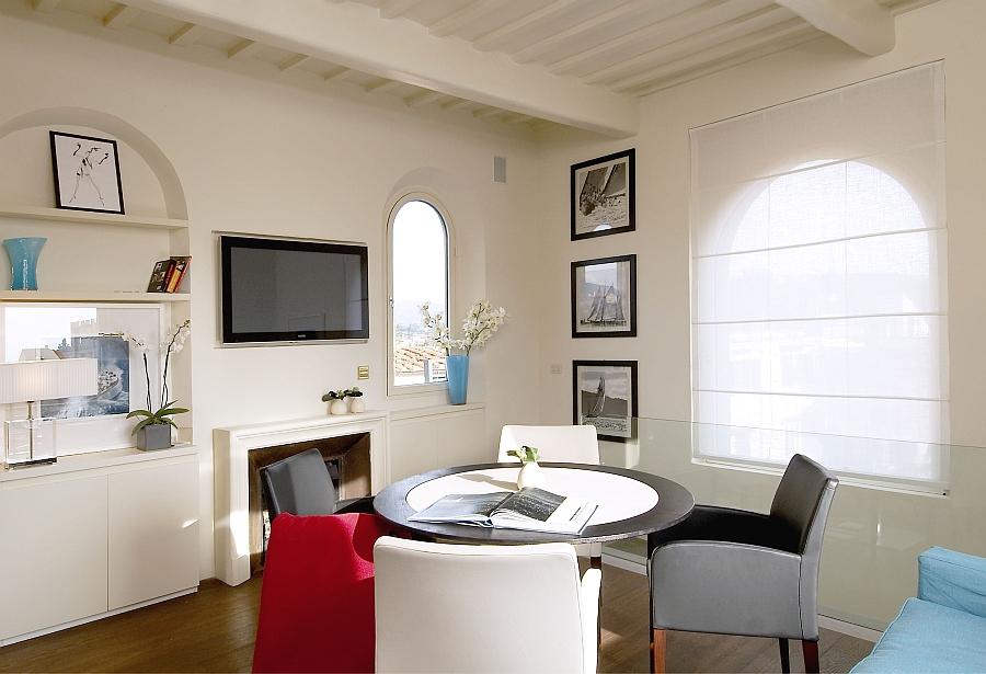 Large windows usher in ample natural ventilation
