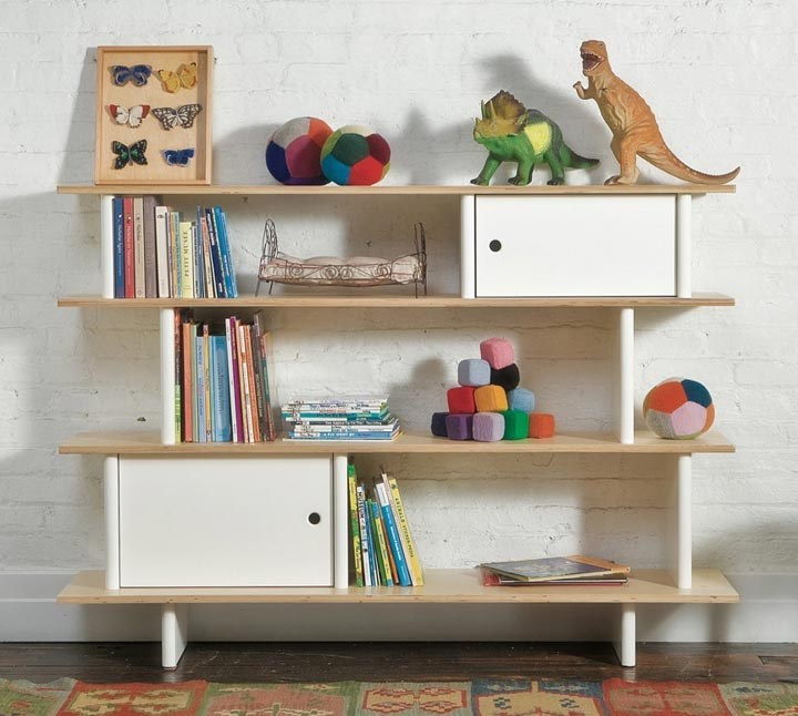 Library storage system Unique Kids Room Design And Decor Ideas