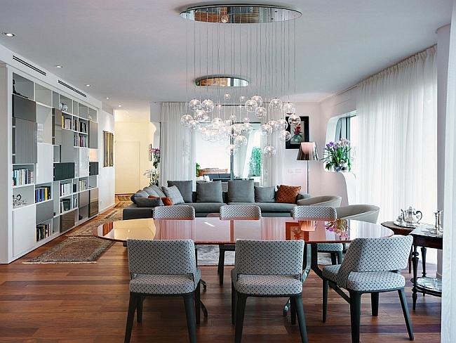 Living Room of Posh Milan Apartment