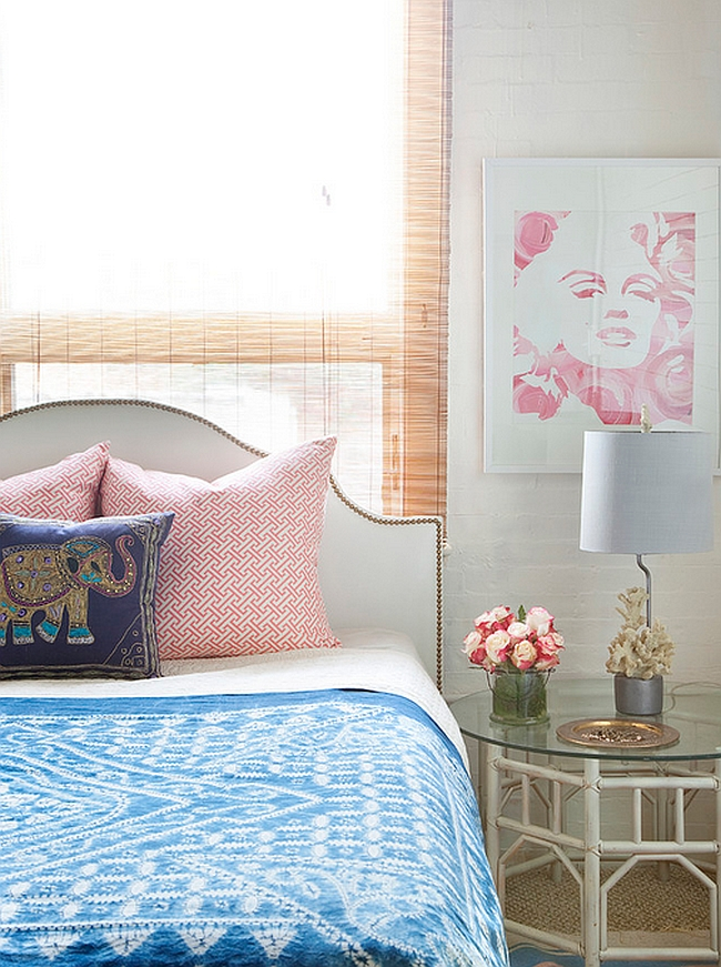 Marilyn print is an easy way to add feminine touch to the room with panache! [By Design Manifest]
