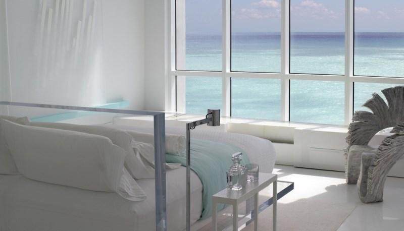 Minimalist bedroom designed by Jennifer Post