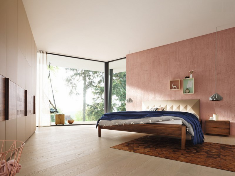 Modern pastel bedroom 10 Relaxing Modern Rooms To Indulge In