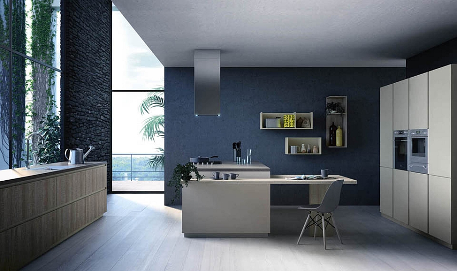 Modular Italian kitchen that can be altered to suit your needs