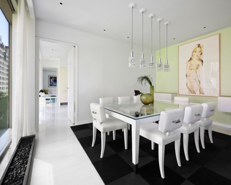 New York City dining room designed by Jennifer Post