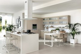 Modular Living Area And Kitchen Compositions Offer Versatile Design Solutions