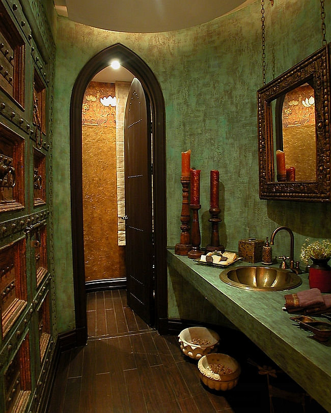 Moroccan bathrooms with a modern flair ideas inspirations for Moroccan style home accessories