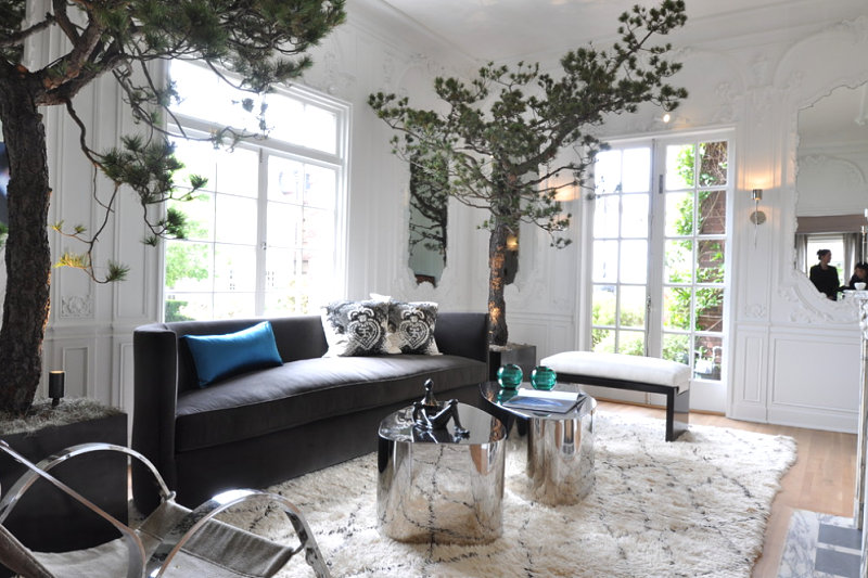 Awesome 10 Rooms With Elegant Indoor Plants