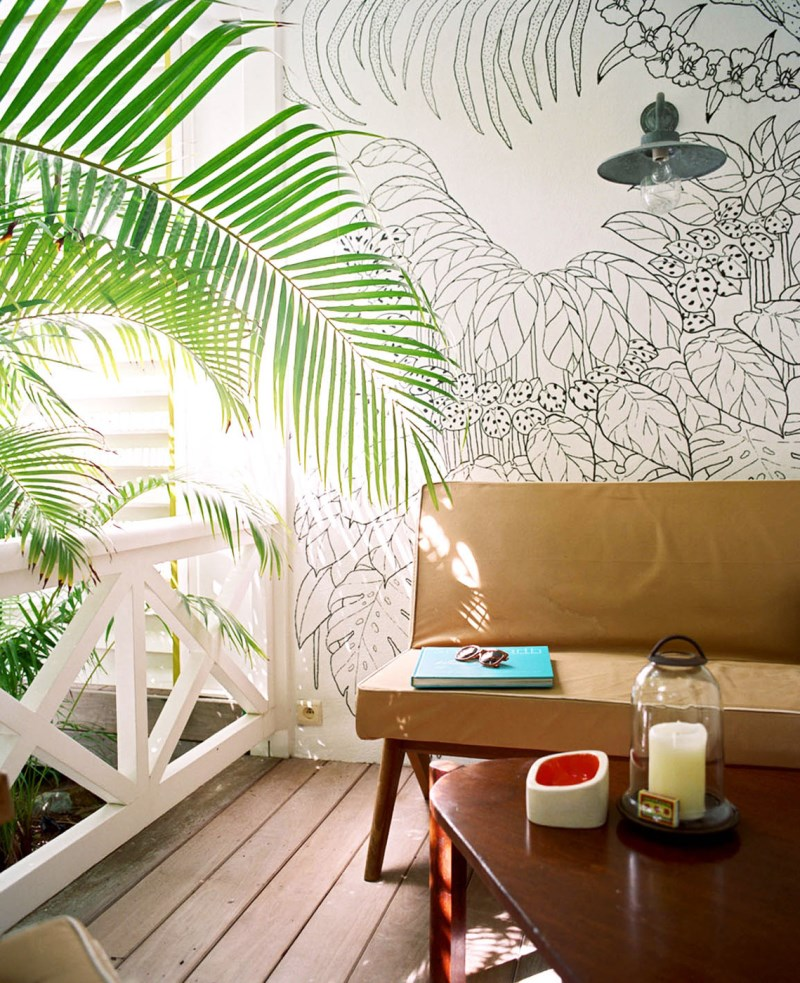 Design inspiration 10 rejuvenating rooms for Audience wall mural