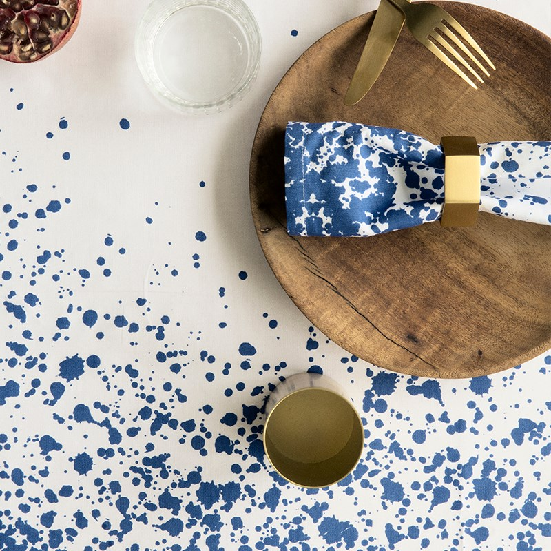 Splash Table Cloth and Napkin from Ferm Living