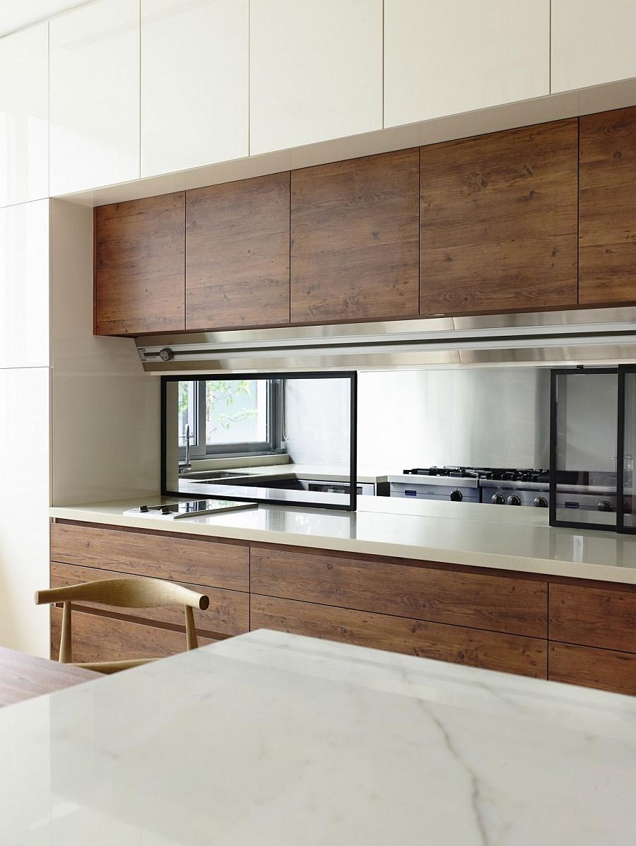 State-of-the-art kitchen exudes sleek minimalism