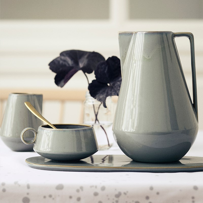 Stoneware pieces from Ferm Living