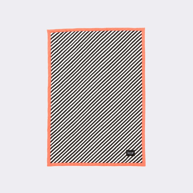 Striped blanket from ferm LIVING