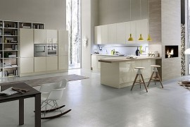 Refined Italian Kitchen Amazes With Elegant Practicality And Contemporary Class