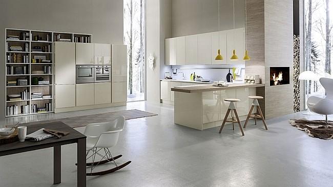 Stylish Italian Kitchen System Collection