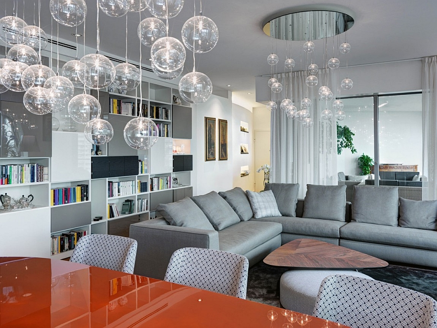 Stylish lighting steals the show in this trendy Milan Apartment