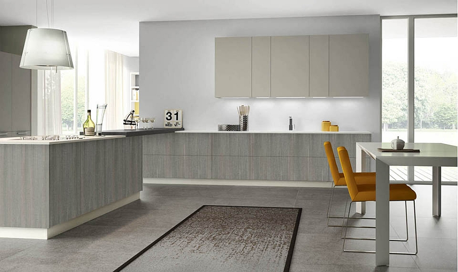 Modular italian kitchen with streamlined design and adaptable style - Elegant italian style kitchen cabinets with timeless charm ...