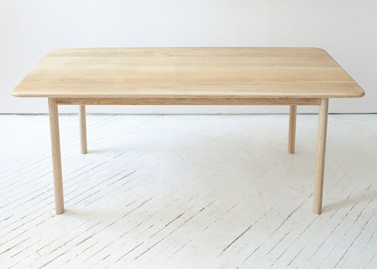 Wooden dining table from Fort Standard