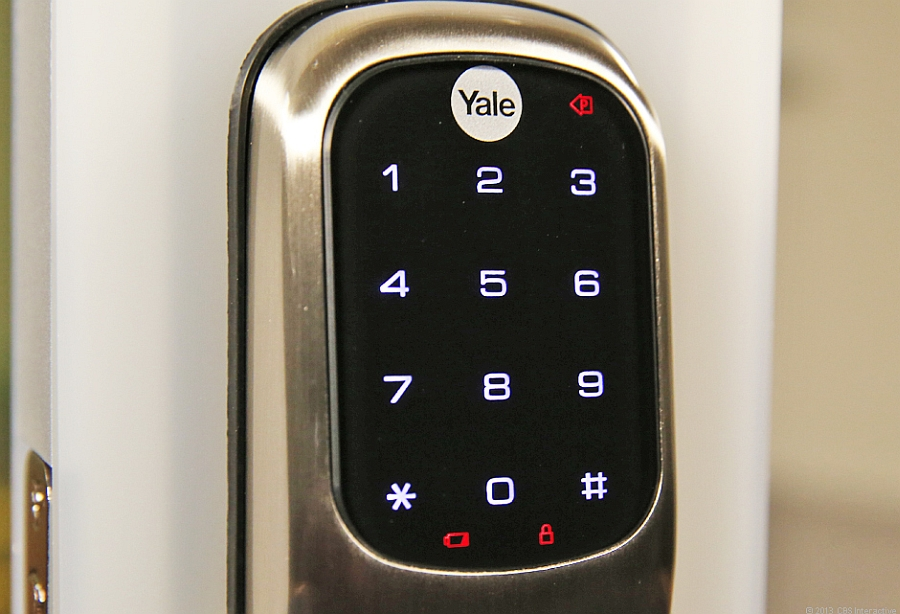 A closer look at the modern interface of Yale Smart Lock