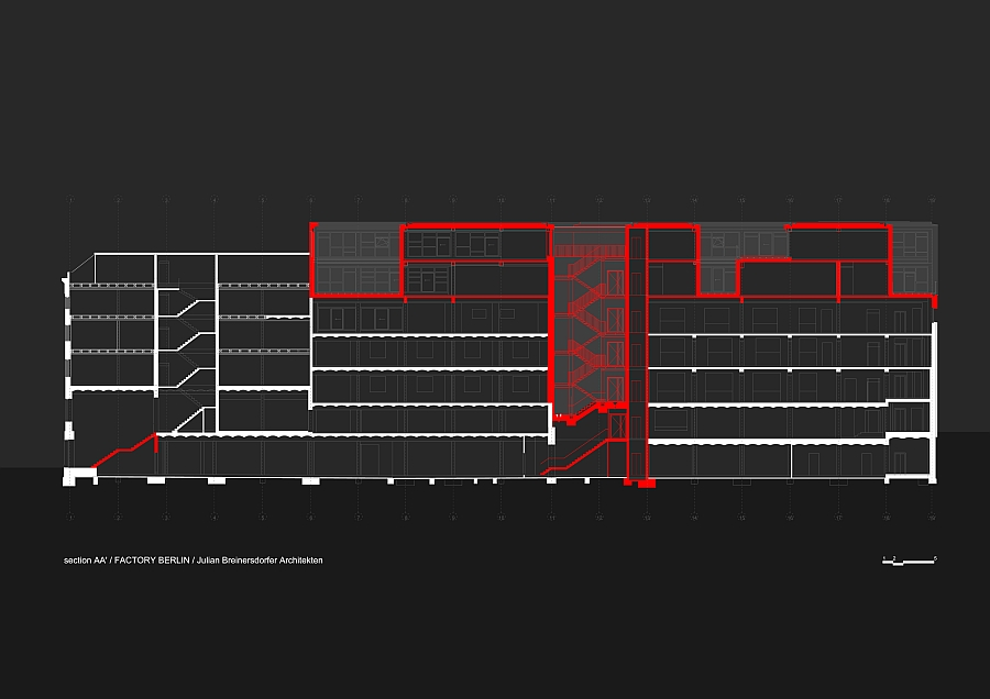 A look at the blueprint of Factory Berlin