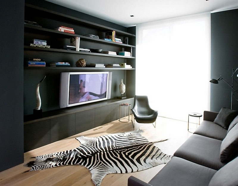 ... A Perfect Idea For The Contemporary Living Room In Gray [Design:  Vanessa Brunner]